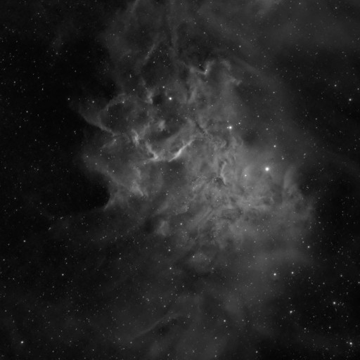 IC405 flaming star