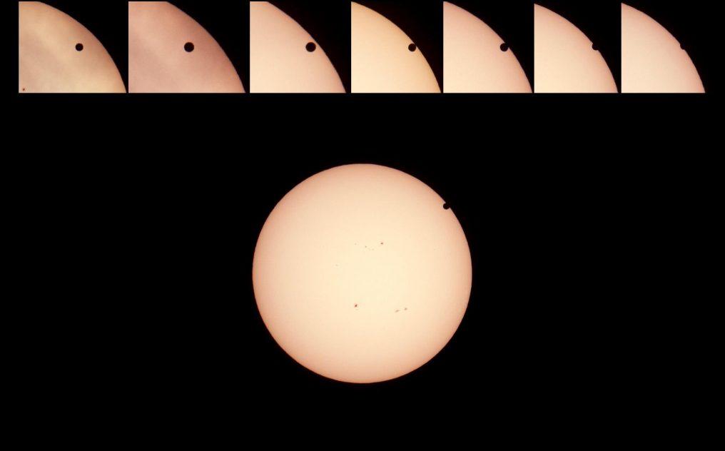 venus transit over sun