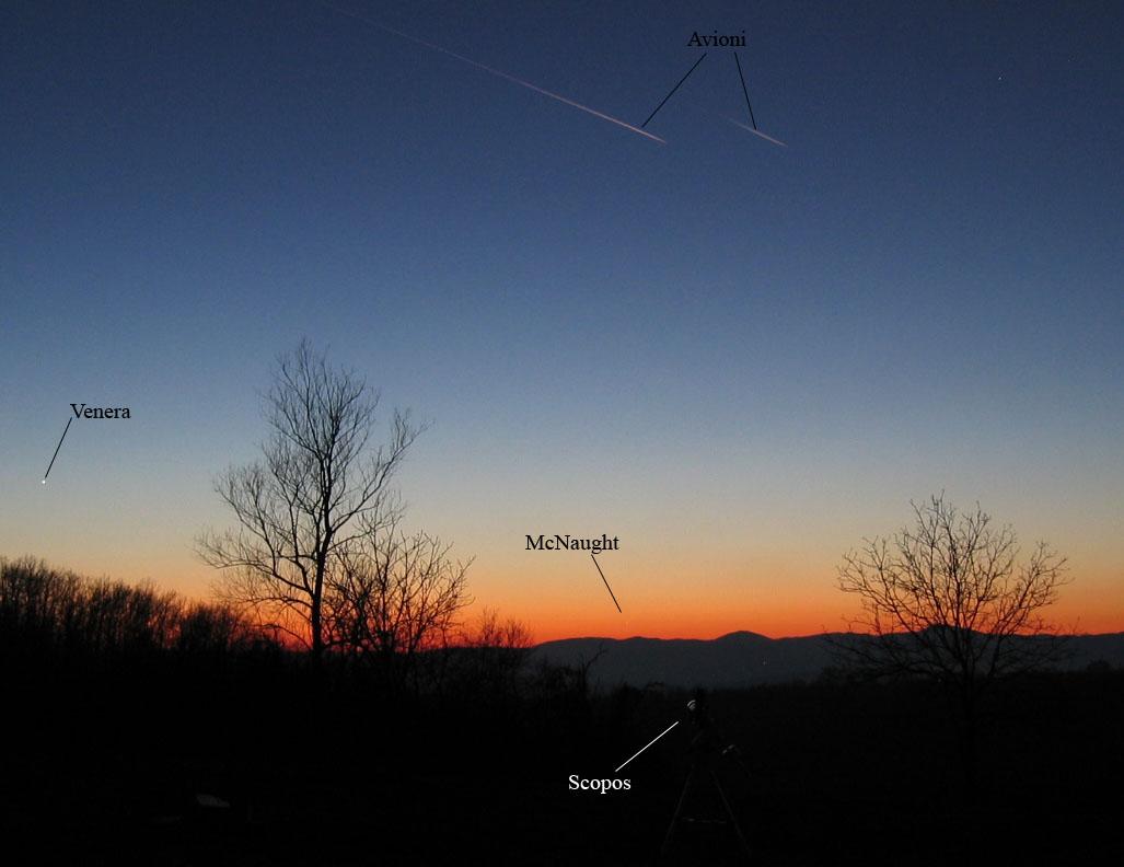 Kometa Venera Avioni -