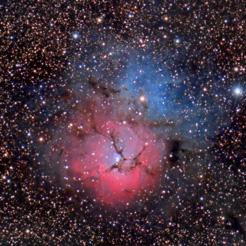M20 Trifid Nebula Thumb - M20 Trifid Nebula