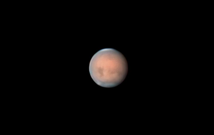 Mars 11 Jul 2018 Dust Storm - Mars 11. Jul 2018.