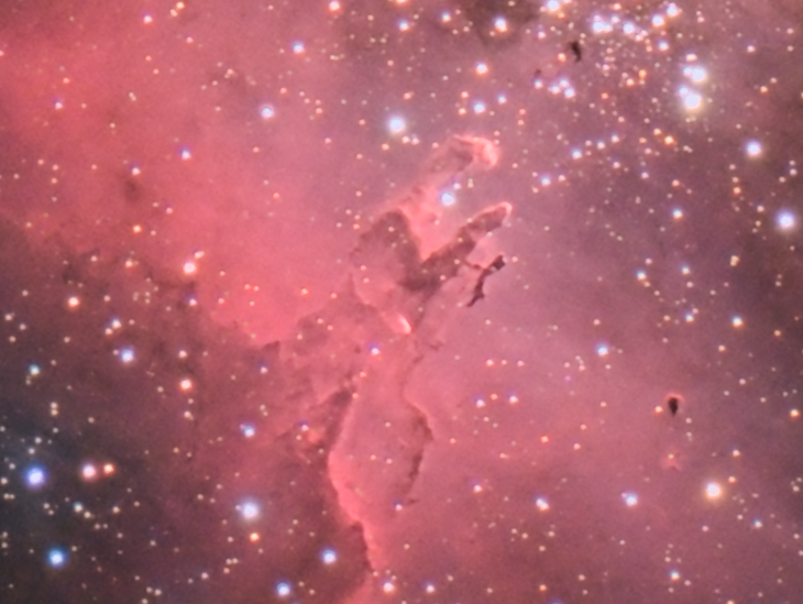 M16 Eagle Nebula crop - M16 Eagle Nebula Pillars of creation