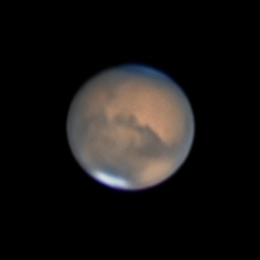 Mars July 5. 2018.