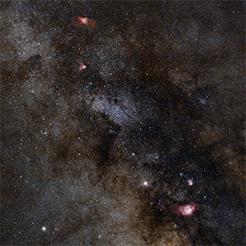Milky Way - South