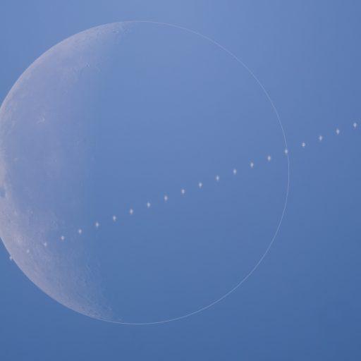 ISS Moon 512x512 - ISS vs MOON