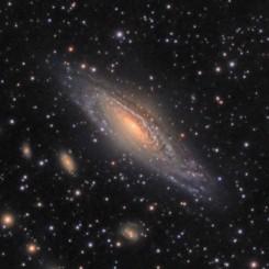 NGC7331 & Stephan's Quintet Galaxy Group