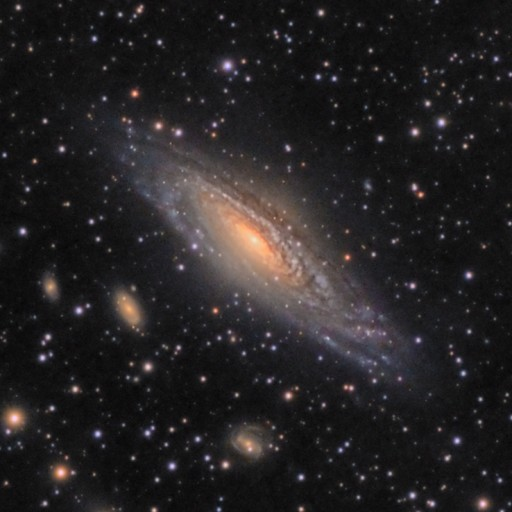 NGC7331 & Stephan's Quintet Galaxy Group