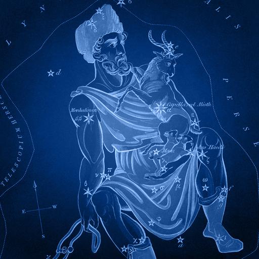 Sidney Hall   Uranias Mirror   Auriga - kocijas auriga