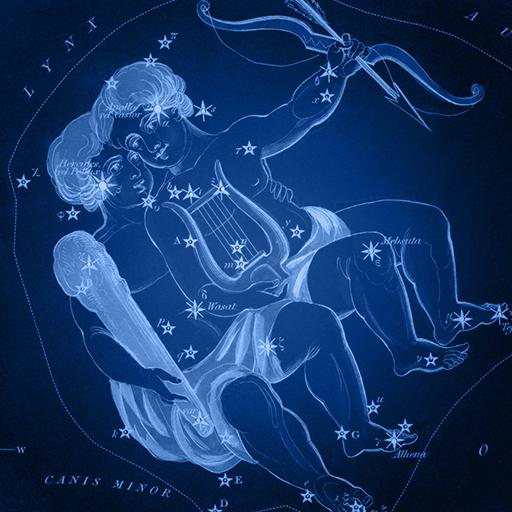 Sidney Hall   Uranias Mirror   Gemini - Blizanci Gemini