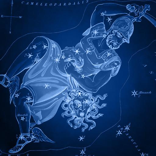 Sidney Hall   Uranias Mirror   Perseus - Persej Perseus