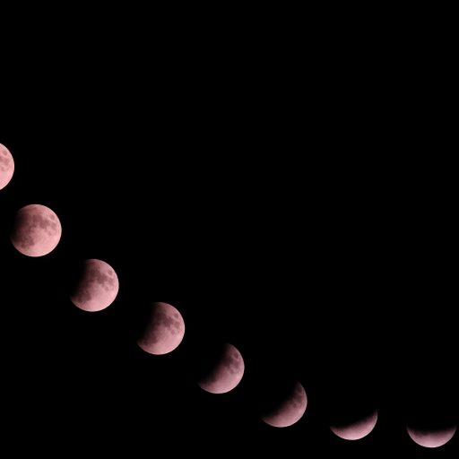Eclipse mosaic 1 512x512 - Partial Moon Eclipse 16.07.2019.