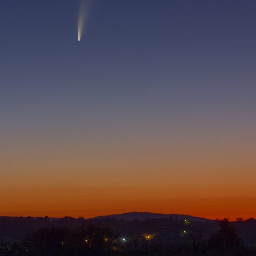 Kometa 512x512 - COMET C/2020 NEOWISE