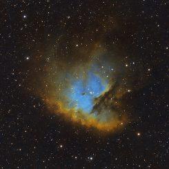 Pacman HST 245x245 - BUBBLE NEBULA NGC 7635